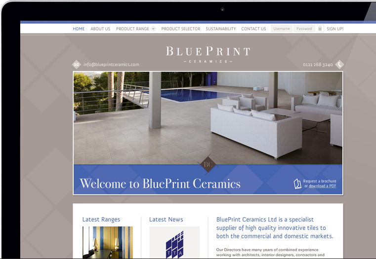 Blueprint ceramics branding digital identity website development 02 03 malvernweather Choice Image